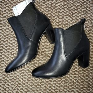 Johnston & Murphy Black Ankle Boots Size 7